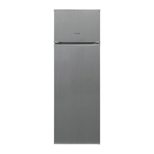 Хладилник с горна камера Finlux FXRA 2835 IX , 240 l, A+ , Инокс , Статична
